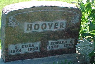 MILLER HOOVER, SARAH CORA - Ringgold County, Iowa | SARAH CORA MILLER HOOVER