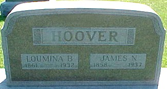 HOOVER, LOUMINA B. (MILLER) - Ringgold County, Iowa | LOUMINA B. (MILLER) HOOVER