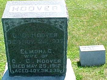 HOOVER, ELMONA G. - Ringgold County, Iowa | ELMONA G. HOOVER