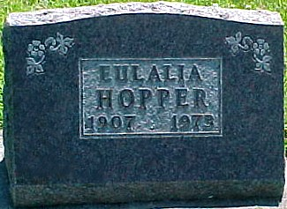 HOPPER, EULALIA - Ringgold County, Iowa | EULALIA HOPPER