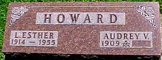 HOWARD, AUDREY V. - Ringgold County, Iowa | AUDREY V. HOWARD