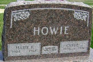 HOWIE, MARIE F. (LANE) - Ringgold County, Iowa | MARIE F. (LANE) HOWIE