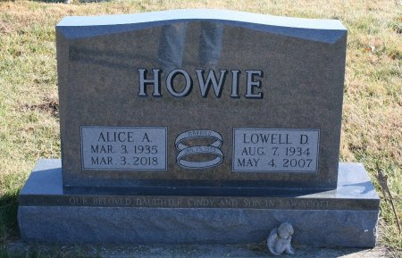 HOWIE, ALICE - Ringgold County, Iowa | ALICE HOWIE