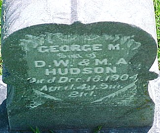 HUDSON, GEORGE M. - Ringgold County, Iowa | GEORGE M. HUDSON