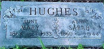 HUGHES, MARY - Ringgold County, Iowa   MARY HUGHES