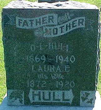 CROUCH HULL, LAURA ELLA - Ringgold County, Iowa | LAURA ELLA CROUCH HULL