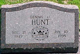 HUNT, DENNIS OWEN - Ringgold County, Iowa   DENNIS OWEN HUNT