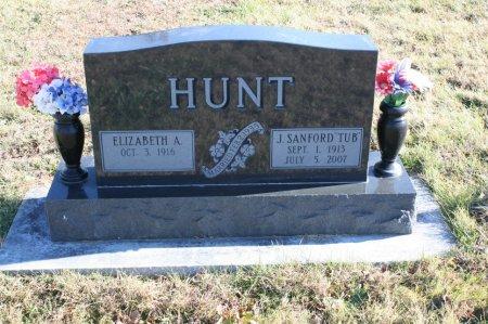 HUNT, J SANFORD - Ringgold County, Iowa   J SANFORD HUNT