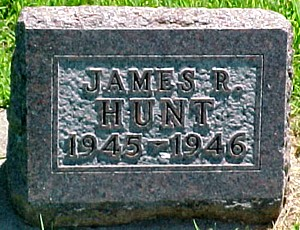 HUNT, JAMES RALPH - Ringgold County, Iowa   JAMES RALPH HUNT