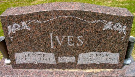 IVES, O. R.