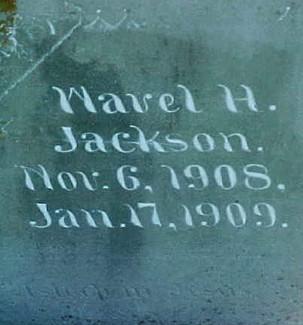JACKSON, WAVEL H. - Ringgold County, Iowa   WAVEL H. JACKSON