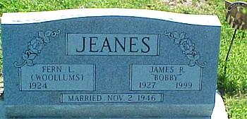 JEANES, JAMES ROBERT