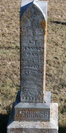 JENNINGS, ALLEN F. - Ringgold County, Iowa   ALLEN F. JENNINGS