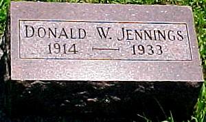 JENNINGS, DONALD W. - Ringgold County, Iowa | DONALD W. JENNINGS