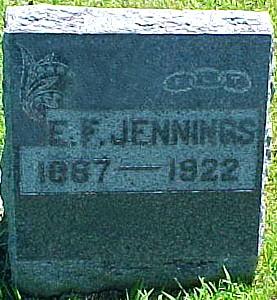 JENNINGS, E. F. [EMMET FARRELL] - Ringgold County, Iowa | E. F. [EMMET FARRELL] JENNINGS