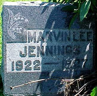 JENNINGS, MARVIN LEE - Ringgold County, Iowa | MARVIN LEE JENNINGS