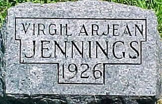 JENNINGS, VIRGIL ARJEAN - Ringgold County, Iowa | VIRGIL ARJEAN JENNINGS