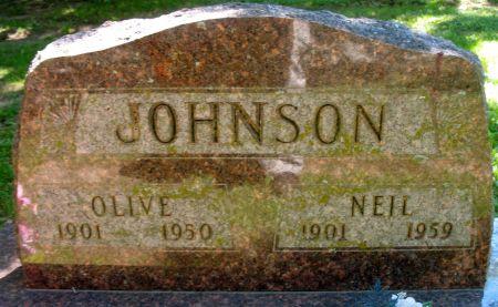 JOHNSON, NEIL - Ringgold County, Iowa   NEIL JOHNSON