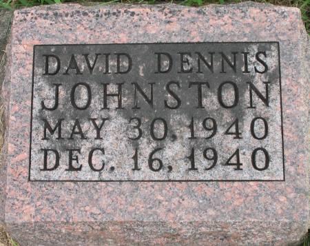 JOHNSTON, DAVID DENNIS - Ringgold County, Iowa | DAVID DENNIS JOHNSTON