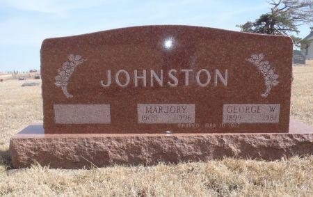 JOHNSTON, MARJORY - Ringgold County, Iowa   MARJORY JOHNSTON