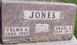 JONES, ANSEL A. - Ringgold County, Iowa | ANSEL A. JONES
