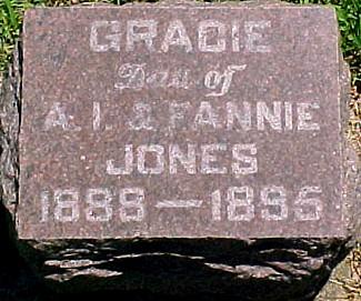 JONES, GRACIE - Ringgold County, Iowa | GRACIE JONES