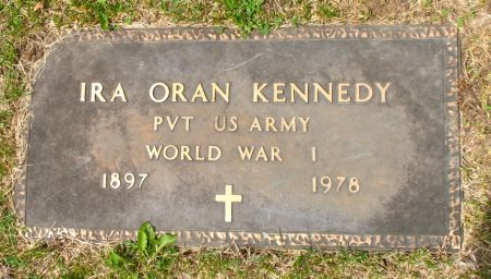 KENNEDY, IRA ORAN - Ringgold County, Iowa   IRA ORAN KENNEDY