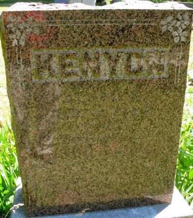 KENYON, SARAH L. - Ringgold County, Iowa | SARAH L. KENYON