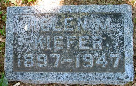 KIEFER, HELEN M. - Ringgold County, Iowa | HELEN M. KIEFER