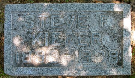 KIEFER, STEVE F. - Ringgold County, Iowa | STEVE F. KIEFER