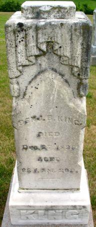 KING, BENJAMIN B. - Ringgold County, Iowa | BENJAMIN B. KING