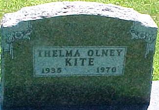 OLNEY KITE, THELMA ELAINE - Ringgold County, Iowa | THELMA ELAINE OLNEY KITE