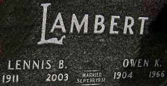 LAMBERT, OWEN KENNETH - Ringgold County, Iowa | OWEN KENNETH LAMBERT
