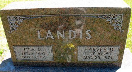 LANDIS, HARVEY D. - Ringgold County, Iowa   HARVEY D. LANDIS