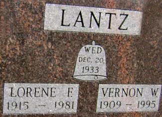 LANTZ, LORENE F. (NORRIS) - Ringgold County, Iowa   LORENE F. (NORRIS) LANTZ
