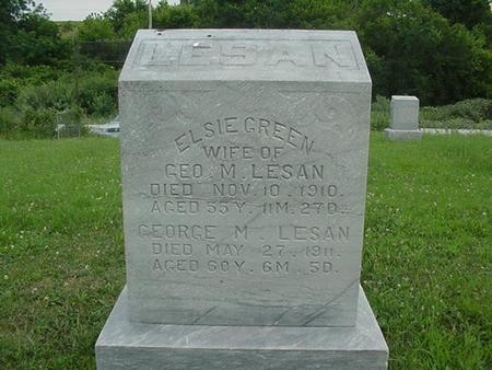 LESAN, GEORGE M. - Ringgold County, Iowa | GEORGE M. LESAN