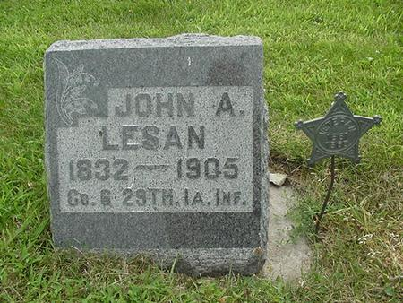 LESAN, JOHN A. - Ringgold County, Iowa | JOHN A. LESAN