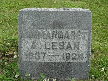 LESAN, MARGARET A. - Ringgold County, Iowa | MARGARET A. LESAN