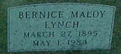 LYNCH, BERNICE (MALOY) THOMAS - Ringgold County, Iowa | BERNICE (MALOY) THOMAS LYNCH