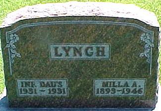 LYNCH, MILLA AUGUSTA (HULL) - Ringgold County, Iowa | MILLA AUGUSTA (HULL) LYNCH