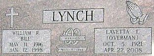 LYNCH, LAVETTA ILENE (OVERMAN) - Ringgold County, Iowa | LAVETTA ILENE (OVERMAN) LYNCH