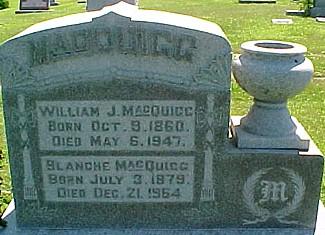 MACQUIGG, WILLIAM J. - Ringgold County, Iowa | WILLIAM J. MACQUIGG