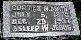 MAIN, CORTEZ RILEY - Ringgold County, Iowa | CORTEZ RILEY MAIN