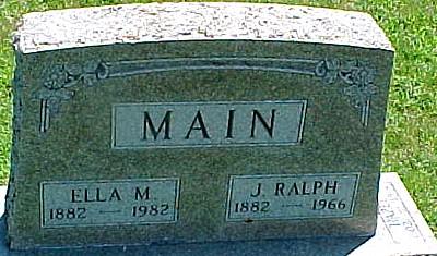 MAIN, MARY