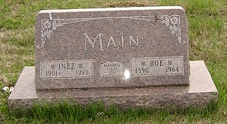 MAIN, INEZ MILDRED (PRAY) - Ringgold County, Iowa | INEZ MILDRED (PRAY) MAIN