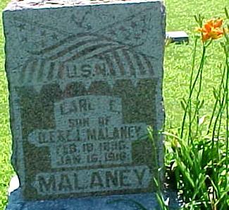 MALANEY, EARL ELBERT - Ringgold County, Iowa   EARL ELBERT MALANEY