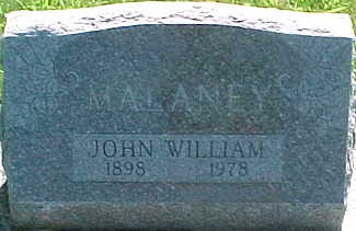 MALANEY, JOHN WILLIAM - Ringgold County, Iowa | JOHN WILLIAM MALANEY