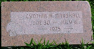 MARSHALL, CYNTHIA A. - Ringgold County, Iowa | CYNTHIA A. MARSHALL