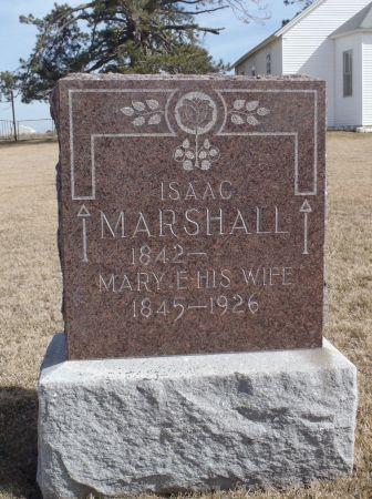 MARSHALL, MARY E. - Ringgold County, Iowa   MARY E. MARSHALL