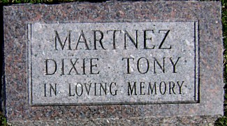 MARTNEZ, DIXIE TONY - Ringgold County, Iowa | DIXIE TONY MARTNEZ